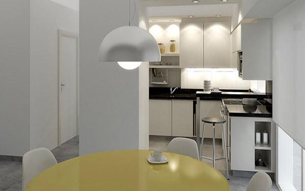 Decoraci n de cocinas peque as for Oficinas modernas 2016